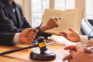 Gavel With the Jury
