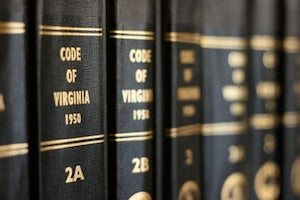 Virginia Code Books